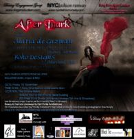 NYC Fashion Runway Presents 'After Dark' - Featuring Maria de Guzman and Boho Designs